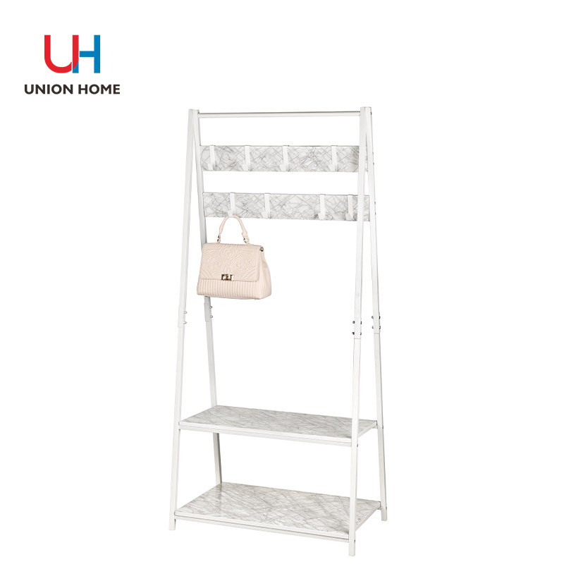 Mdf density board printed marble clothes horse