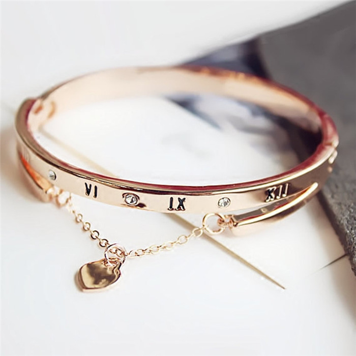 Rose Gold Stainless Steel Bracelets
