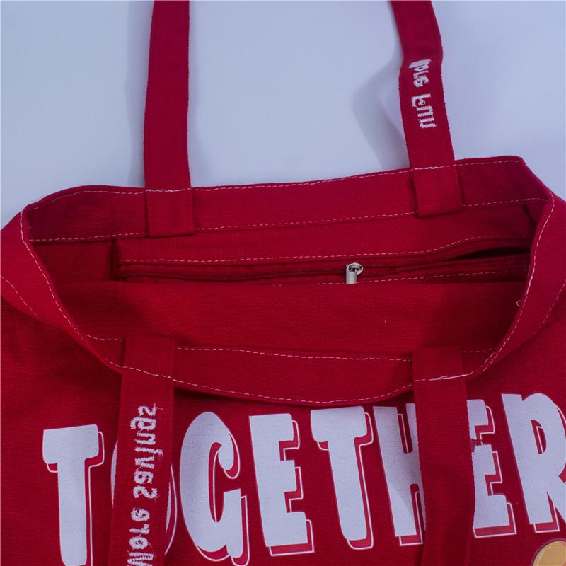 Hand Length Handle cotton bag