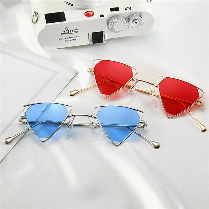 Vintage Steampunk Triangle Sunglasses