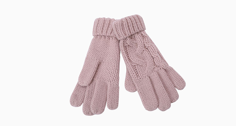 knitted gloves mens factory