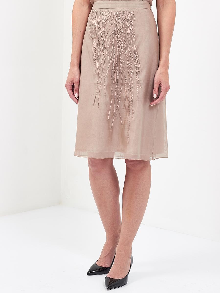 Grace Emb Organza Skirt