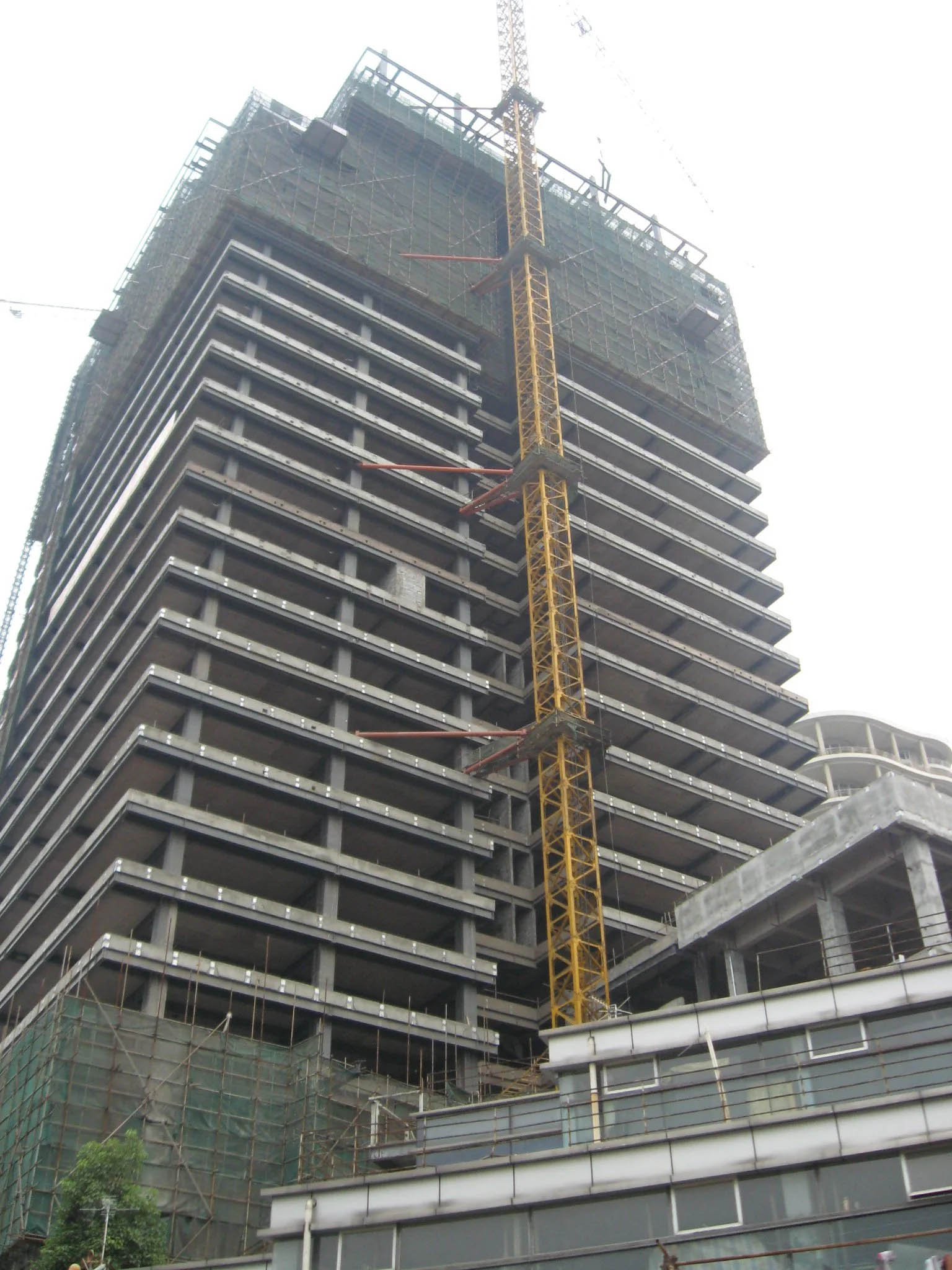Multi-Storey Steel Structure Prefabricated Buiding