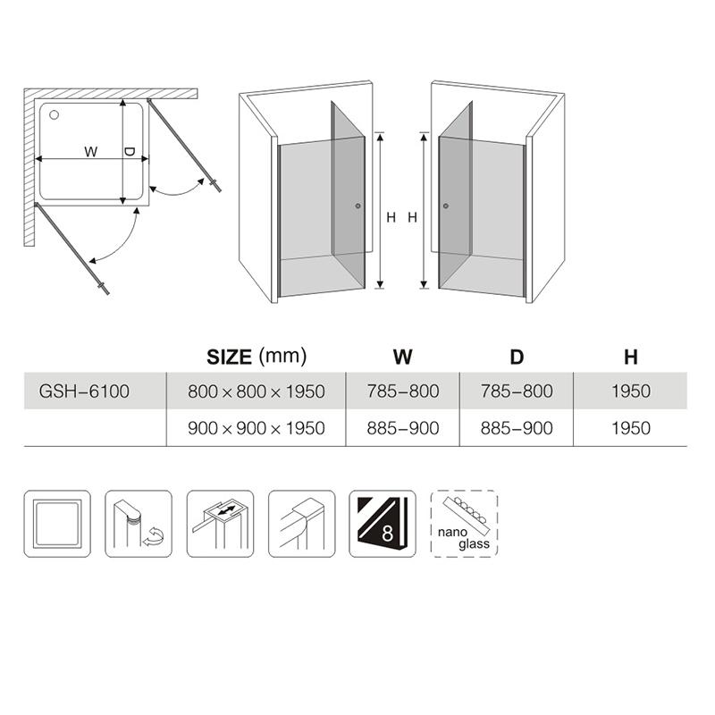 glass shower enclosure installation manufacturers