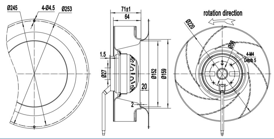 centrifugal fan price