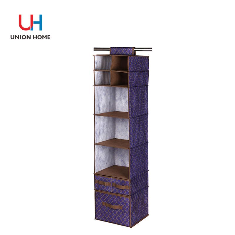10 tiers hanging closet organizer