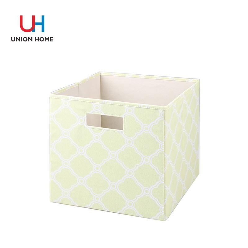 Foldable printing storage cube