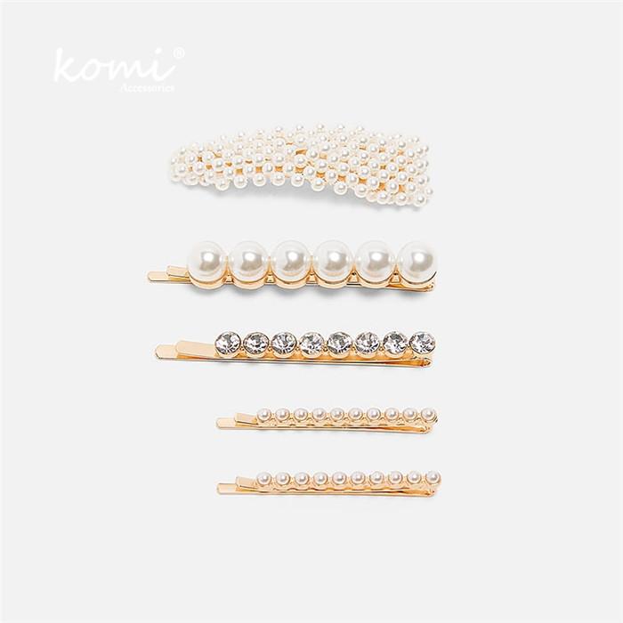 Simulated Pearl Hair Pins