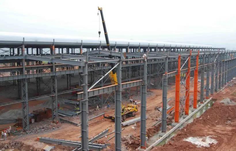 Steel structure workshop design