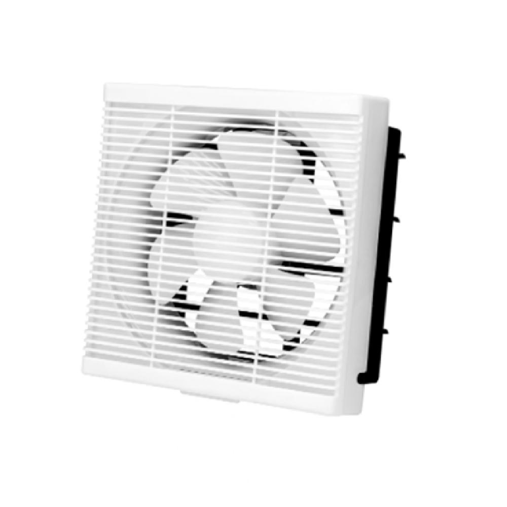 LED Ceiling Fans light Wall Mounted Window Shutter Ventilation Exhaust Fan