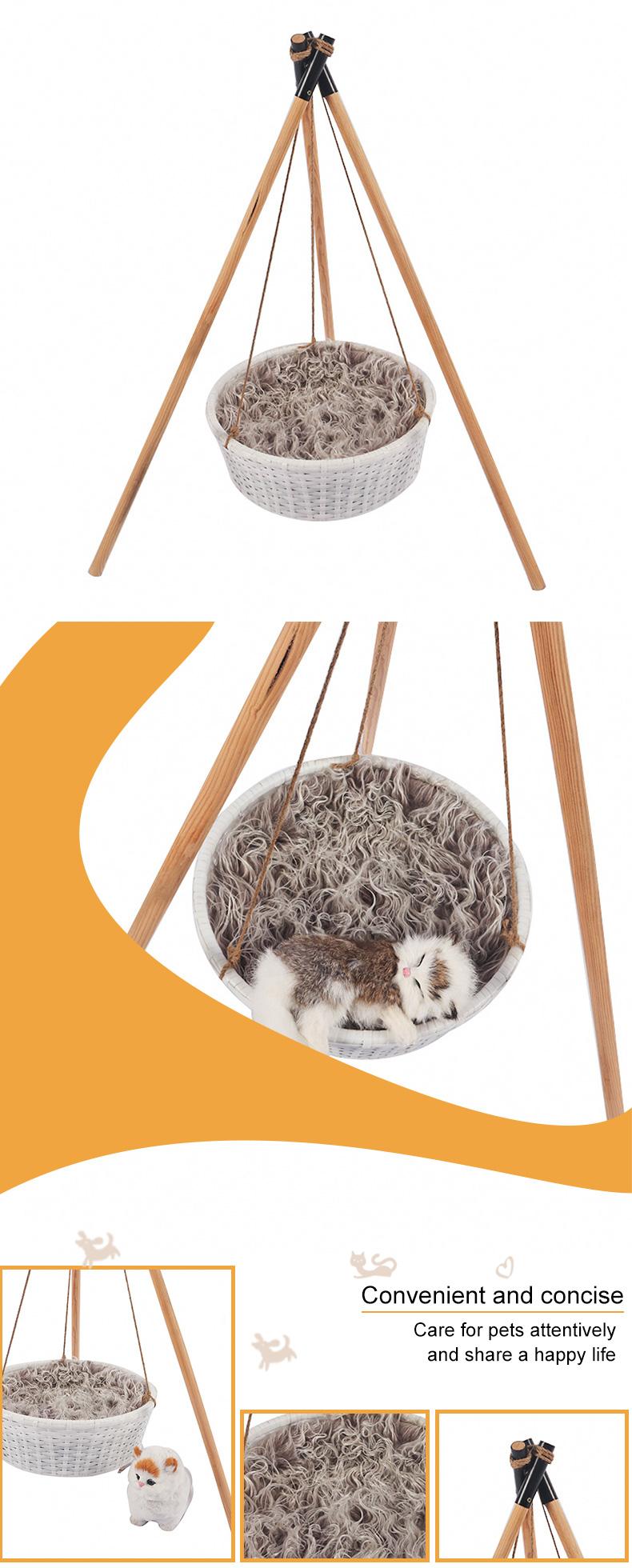 a tripod cat basket pet product