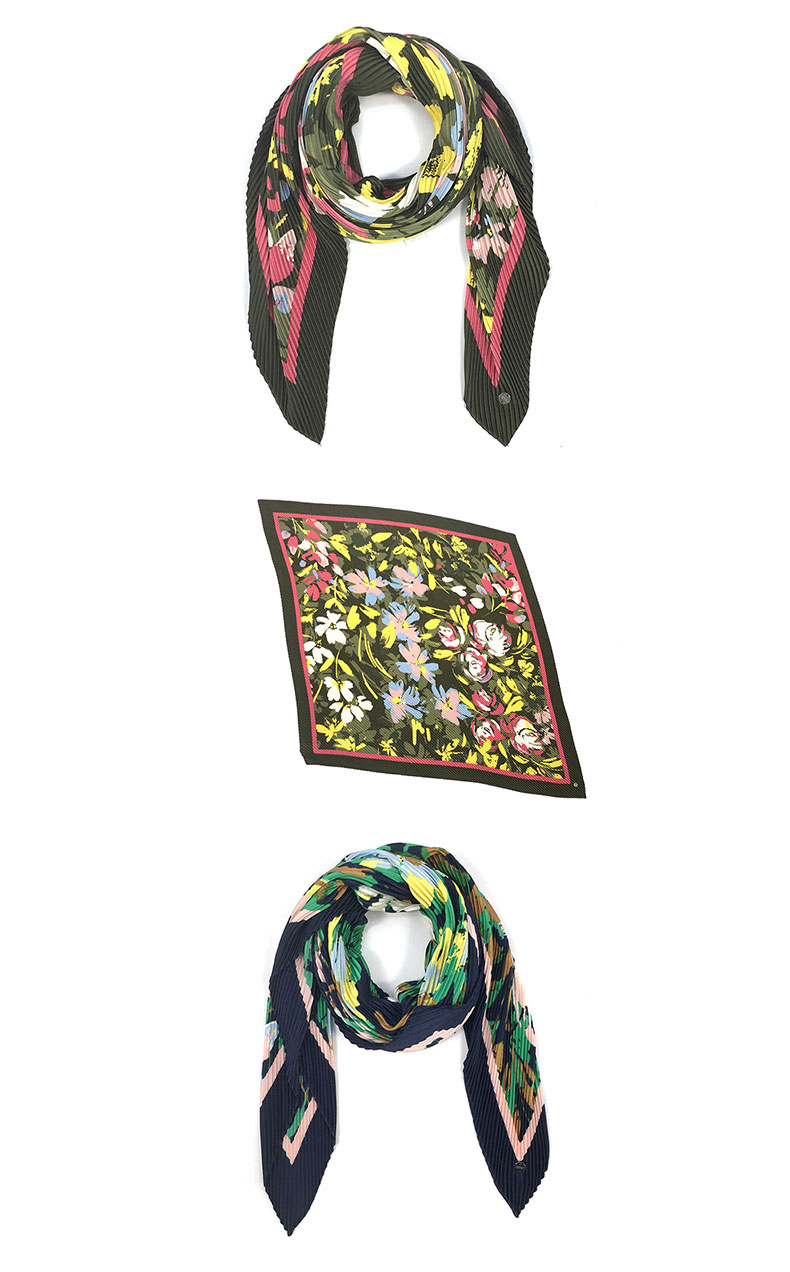 silk scarves for hair Manufacturers