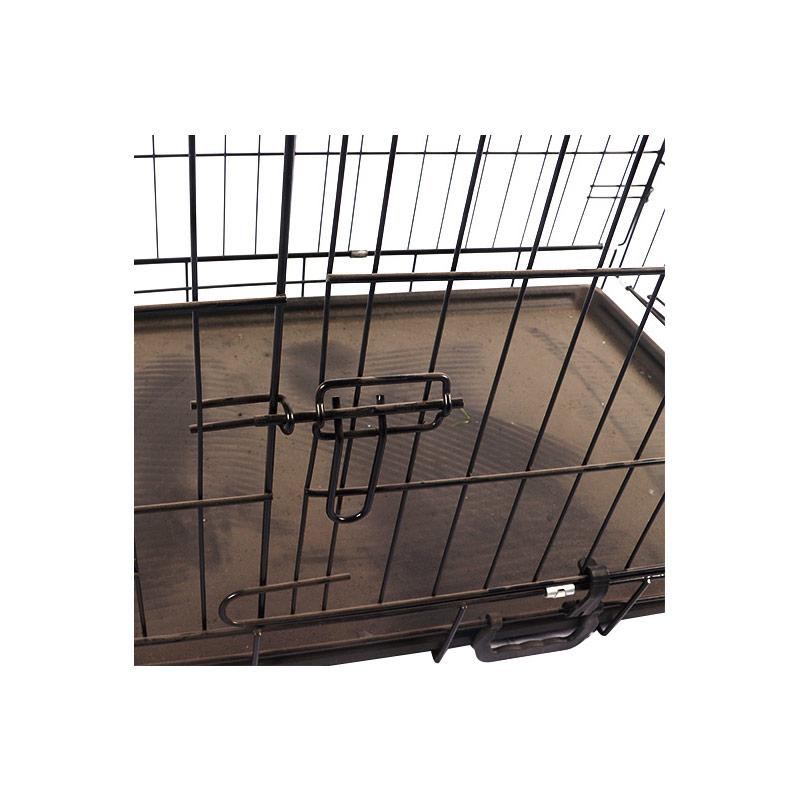 Metal folding cat cage