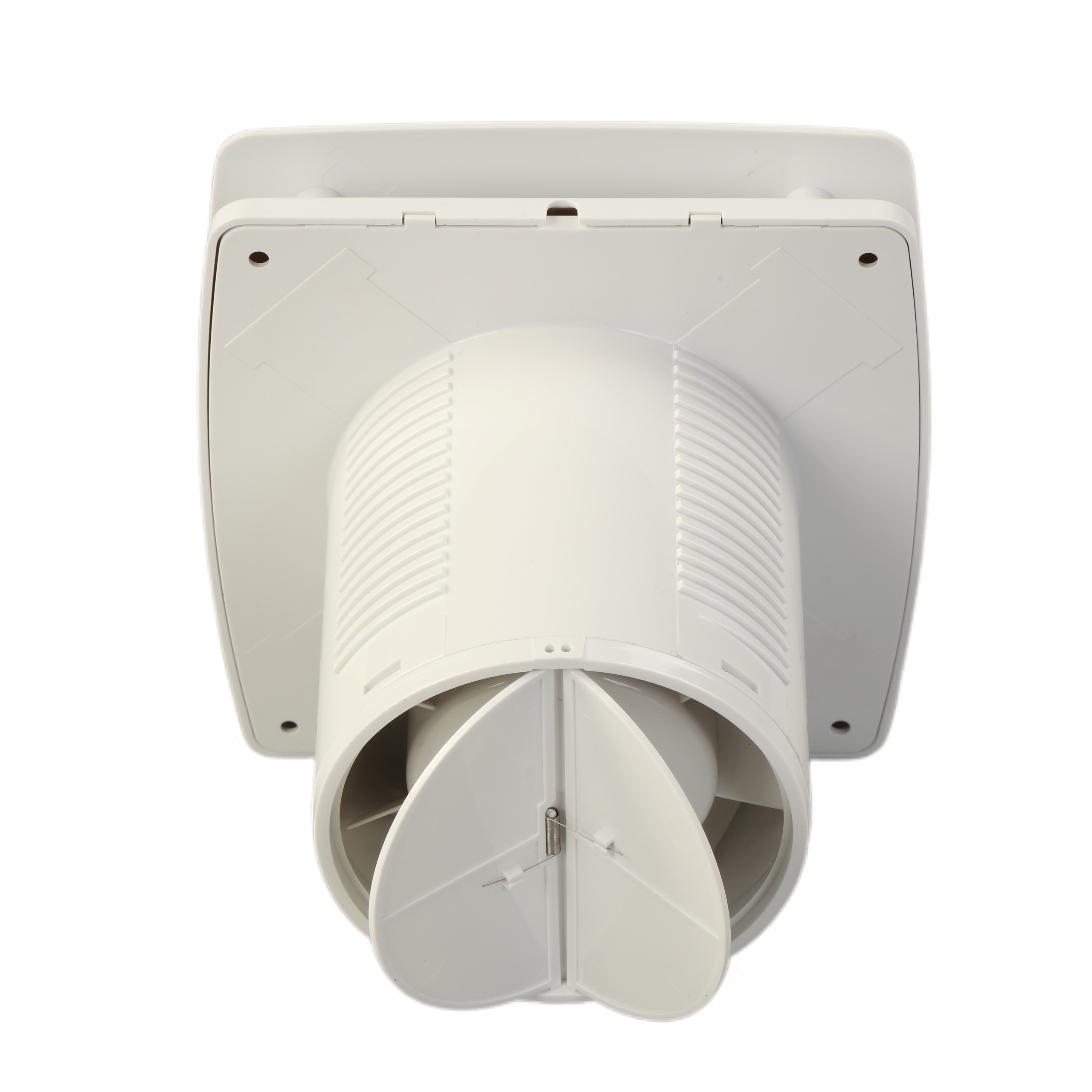 Bathroom Household Plastic Humidity Control Wall Mount Fans