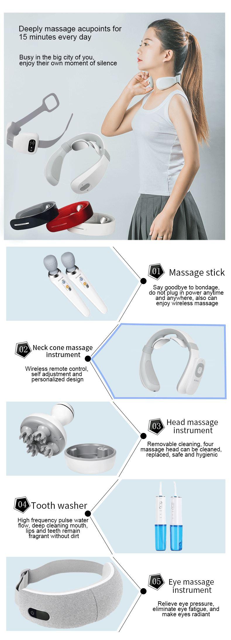 China neck cone massage instrument wholesaler