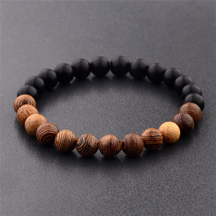 Natural Wood Beads Bracelets
