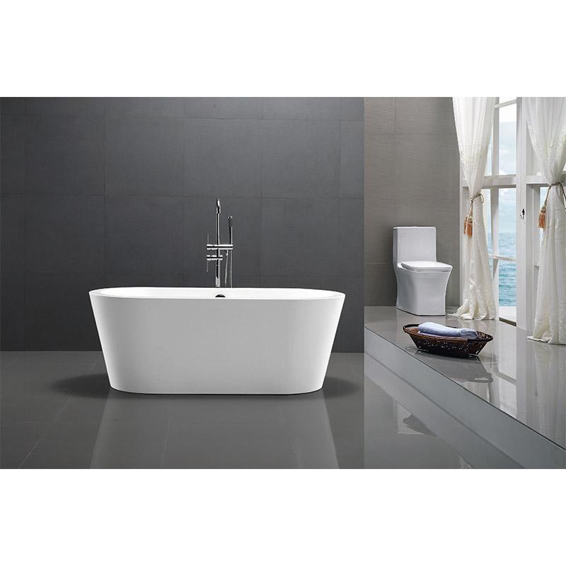 Overal shape bathtub