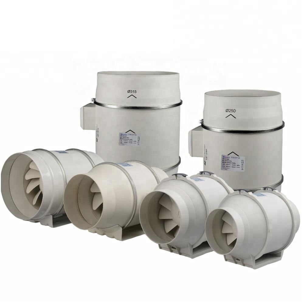 4 Inch In-line Duct Fan Mixed Flow Air Blower