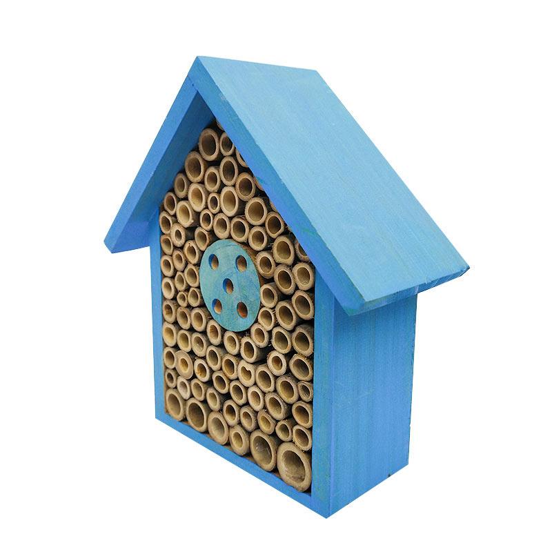 Solid wood bee nest pet supplies