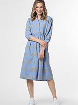 Cotton Emb dress