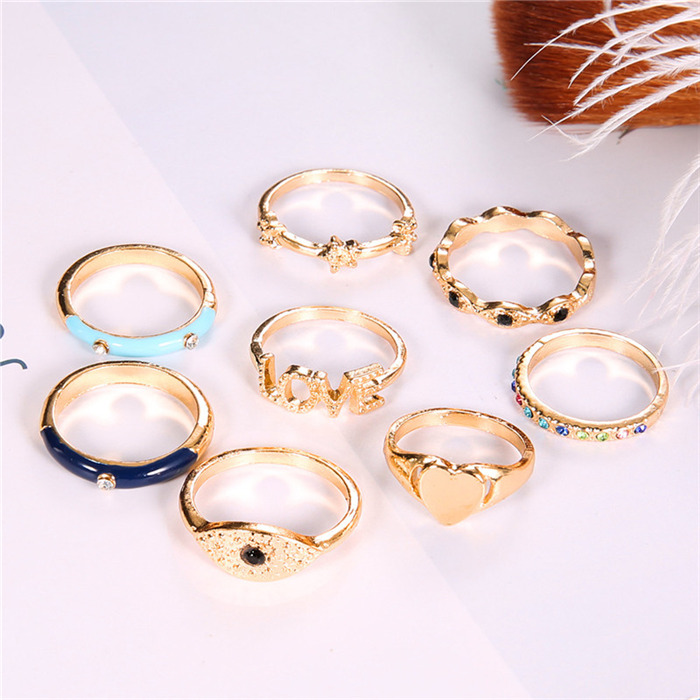 Punk Style Gold Finger Ring