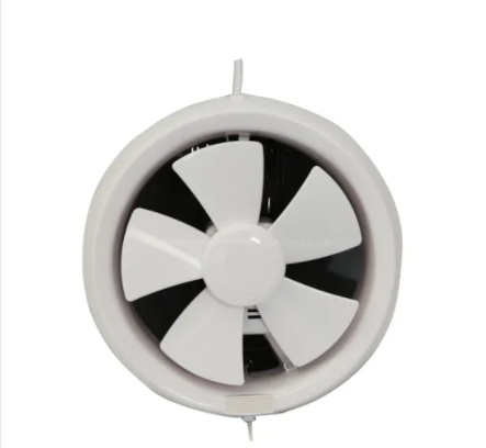200mm Hydroponics Silent Ceiling Wall Mounted Exhaust Fan