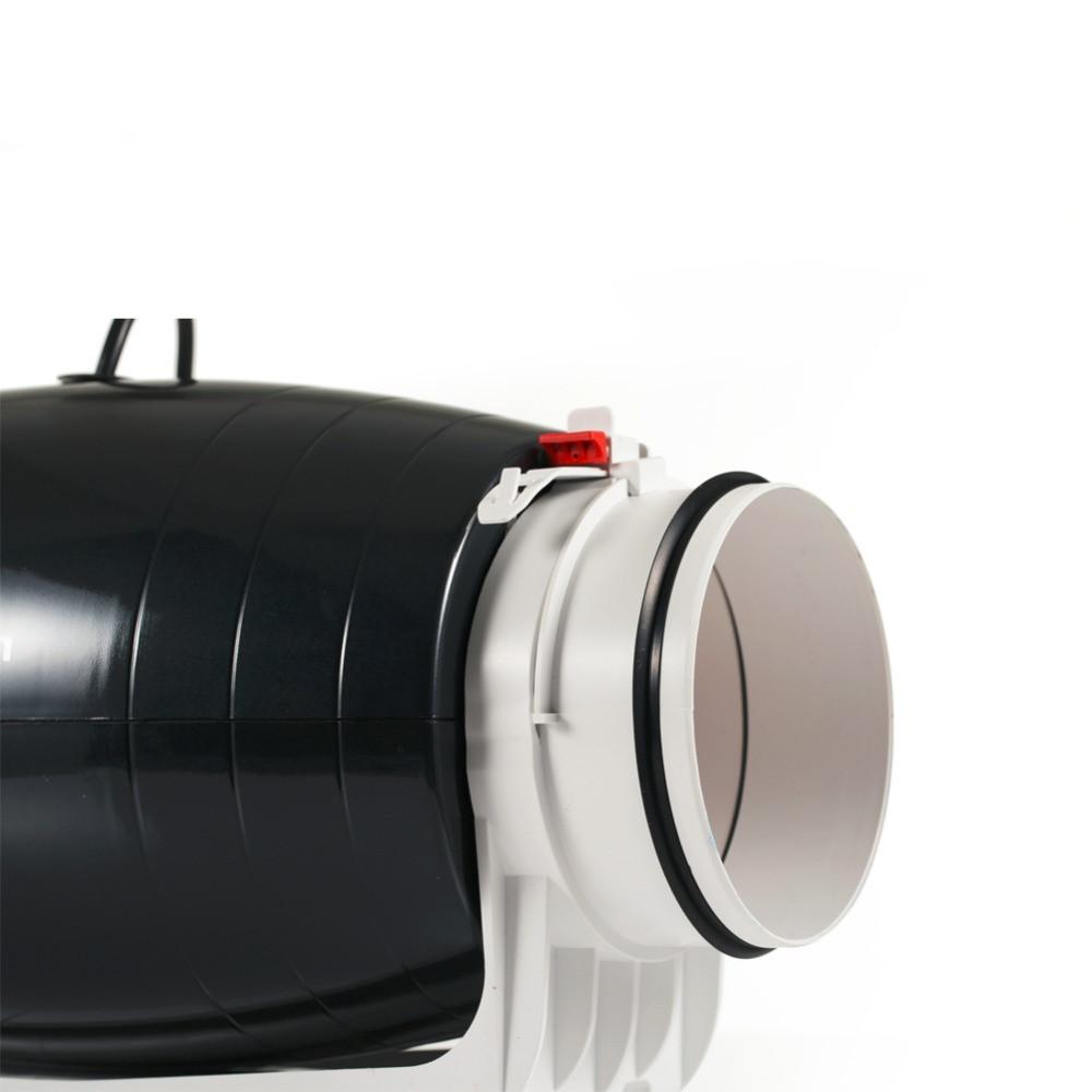10 Inch Electrical AC DC Axial Flow Fan Ventilation Inline Duct Fan
