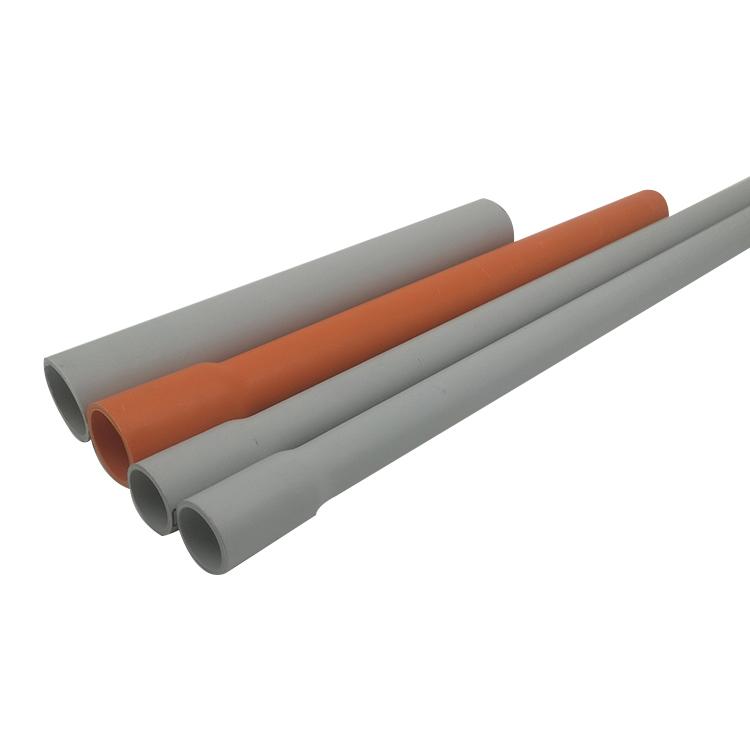 SAA Australia Electrical HD Orange UPVC Electrical Conduit Pipes