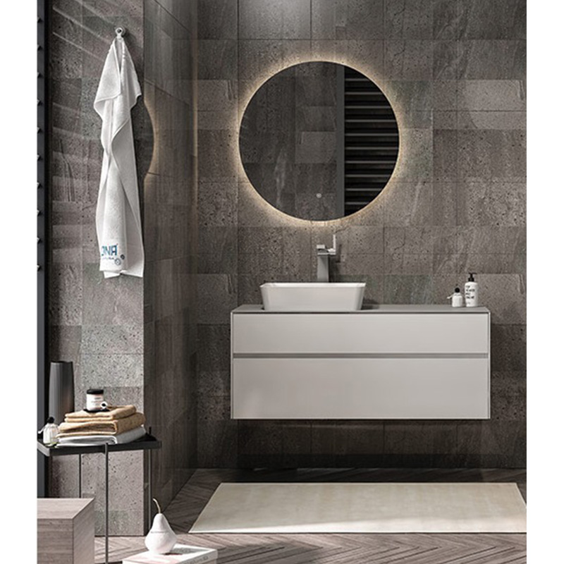 MDF plywood bathroom vanity cabinet