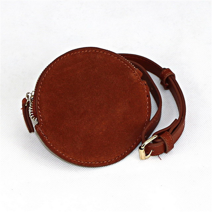 Small round brown bag