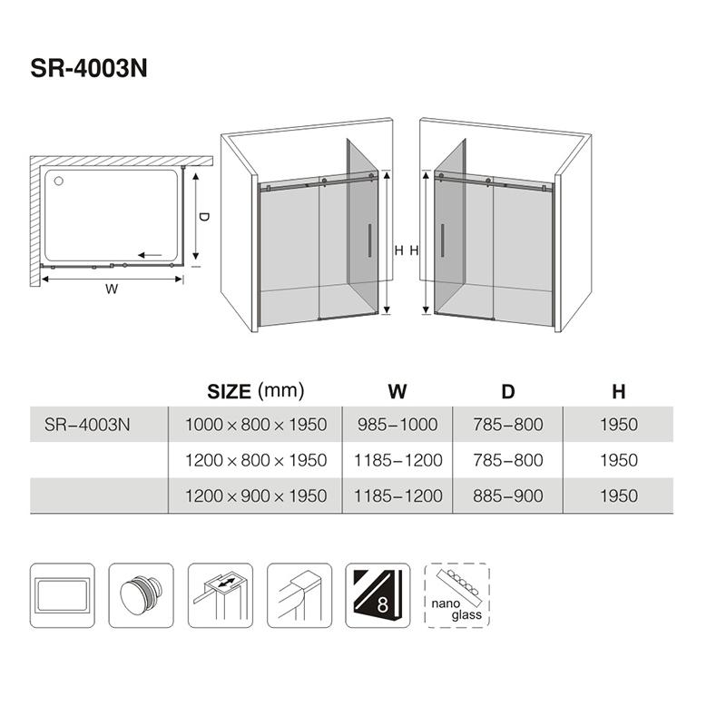 sterling shower enclosures