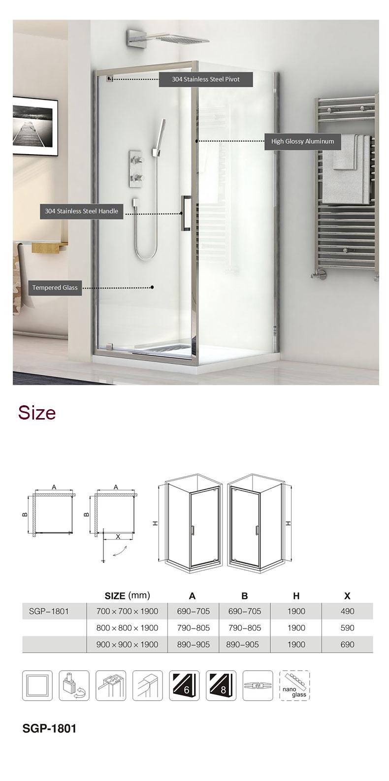 shower door enclosure store manufacturers