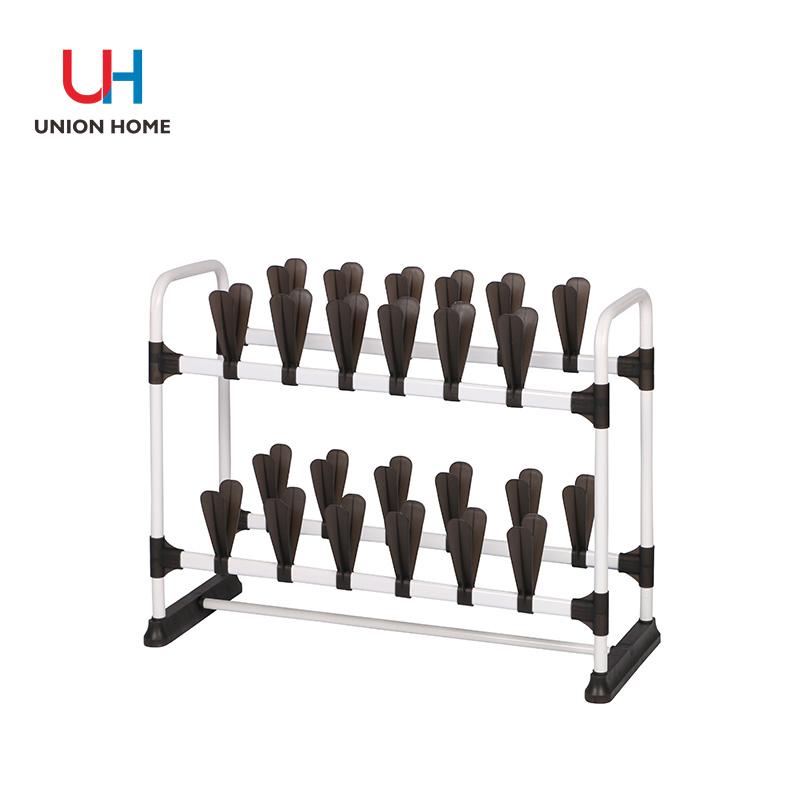 PP metal tube with powder coating shoe rack