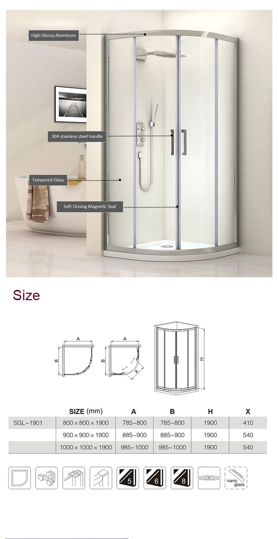 36 x 36 shower enclosure suppliers