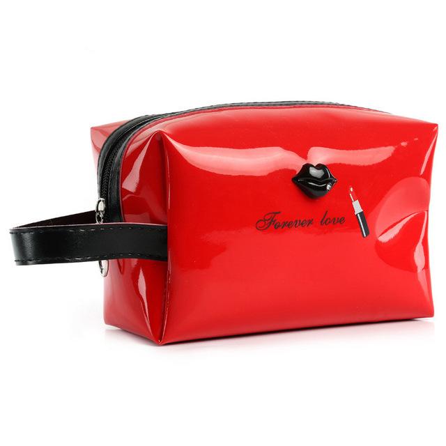 Portable PU Cosmetic Bag