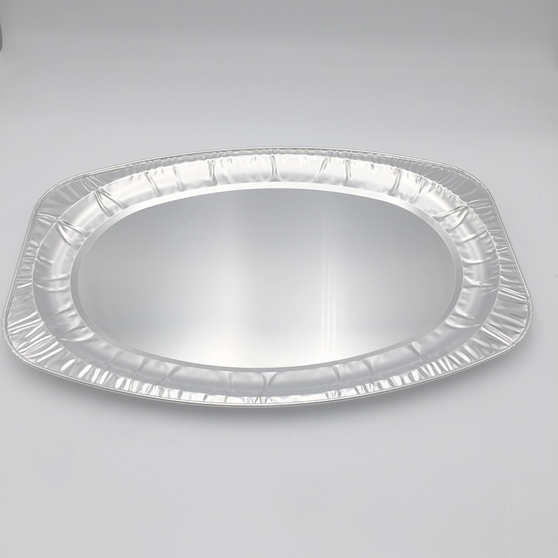 Aluminium foil tray for baking