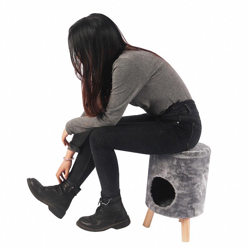 Cat nest shoe change stool pet product