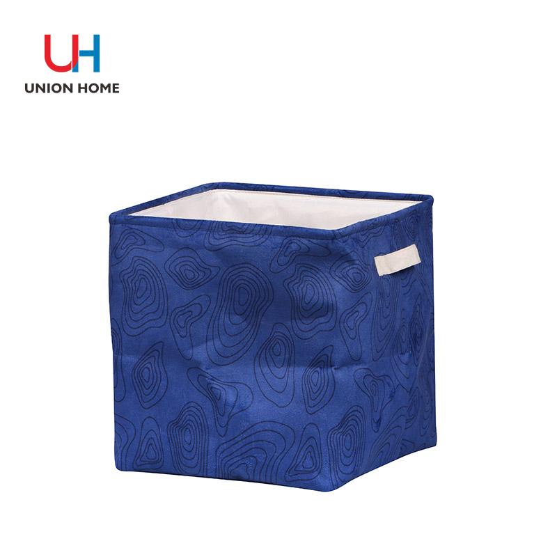 Canvas handle storage bucket