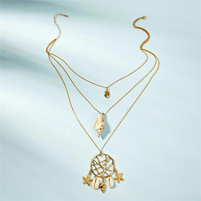 Shell Starfish Necklace