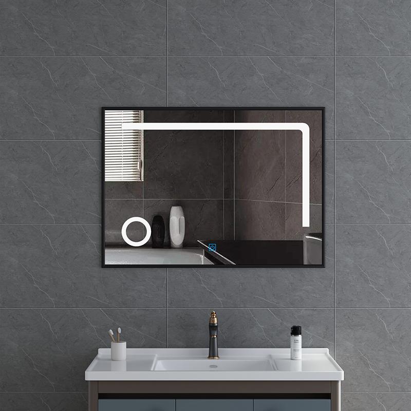 Magnifying Makeup Mirror with aluminum frame