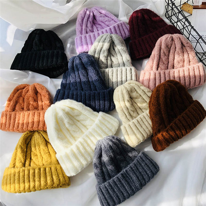 Warm Cashmere Girl Solid Hat