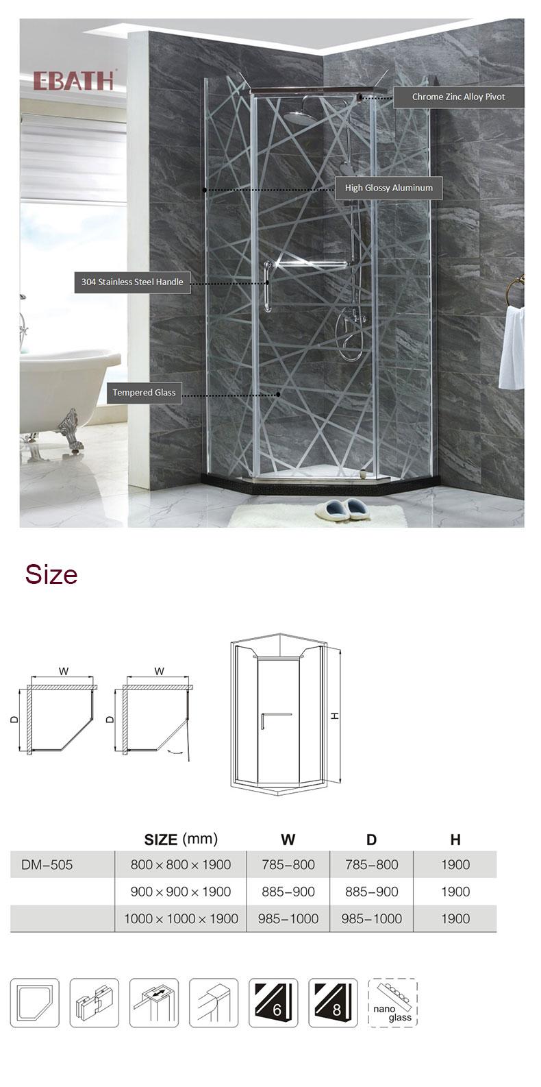 steam shower enclosure manufacturers