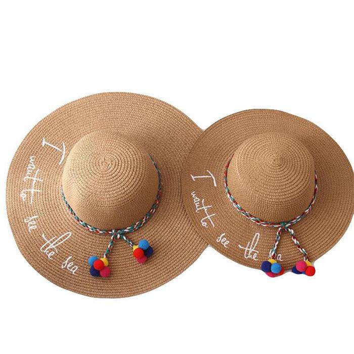 Fashion Embroidery Sun Hat