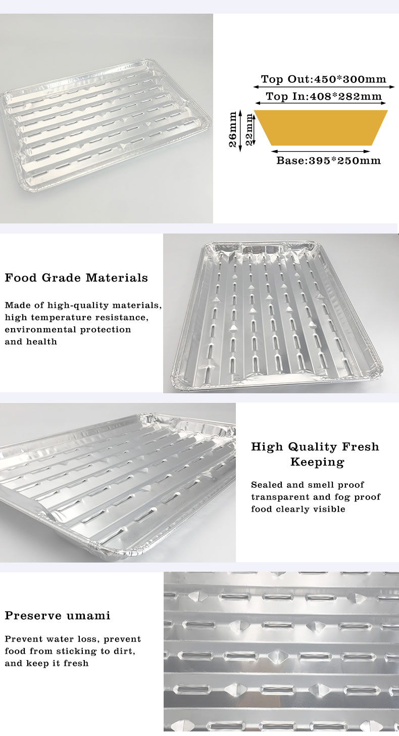 Square aluminum foil container Manufacturers