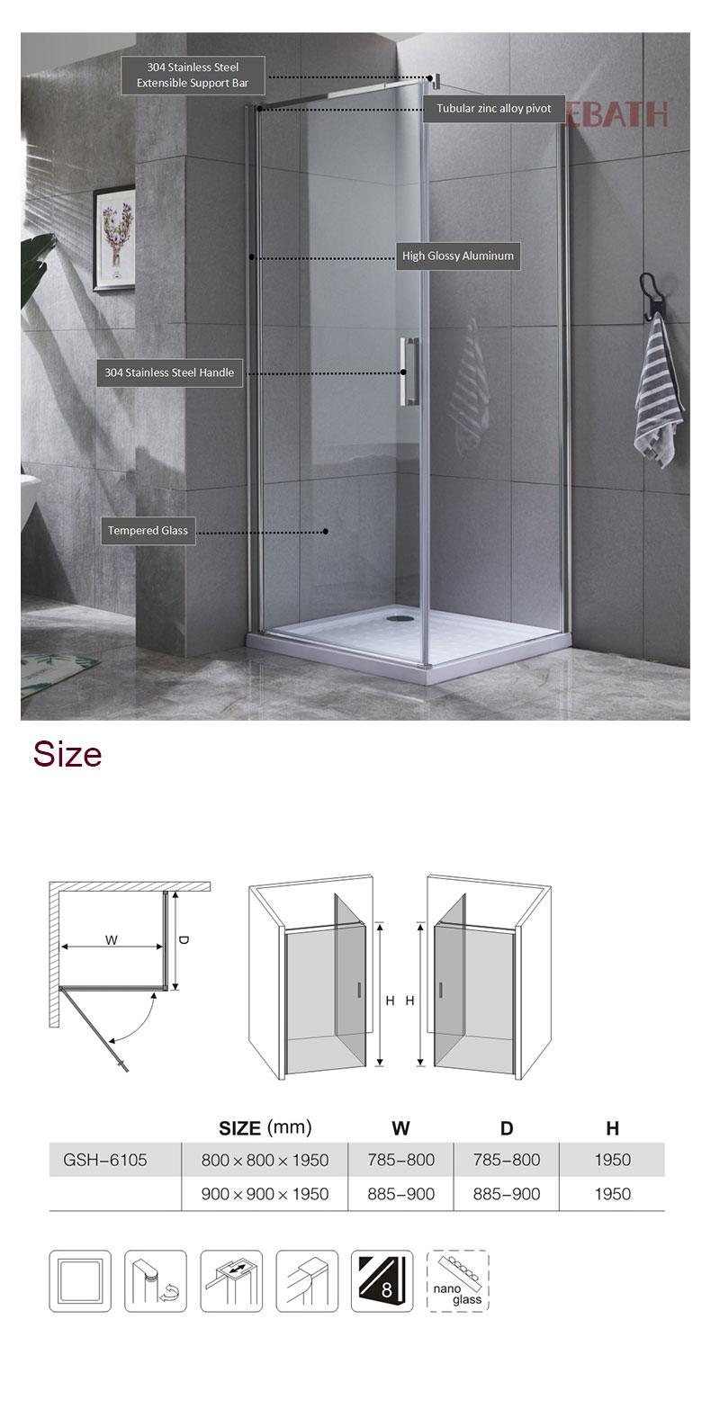 shower enclosure installation near me