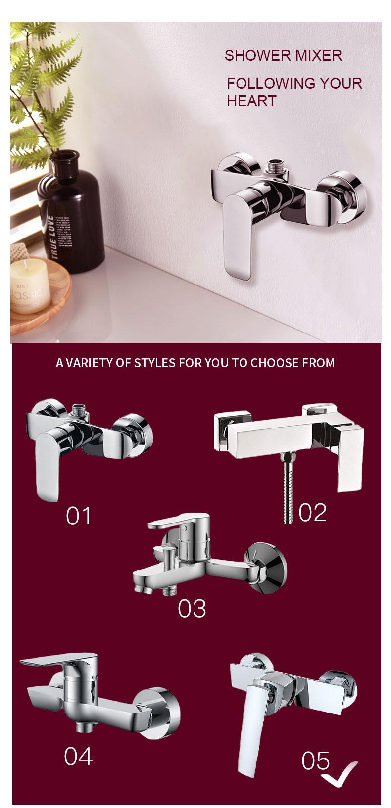 bath shower mixer taps manufacturers