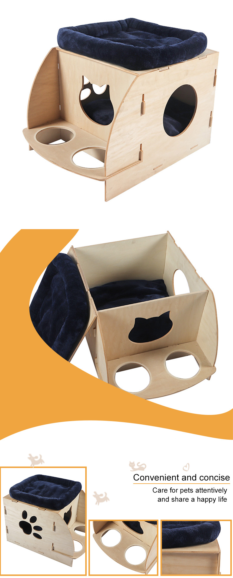 disassembly cat litter pet product