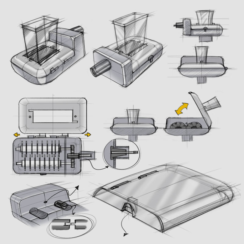Product Design - Injection molding parts production