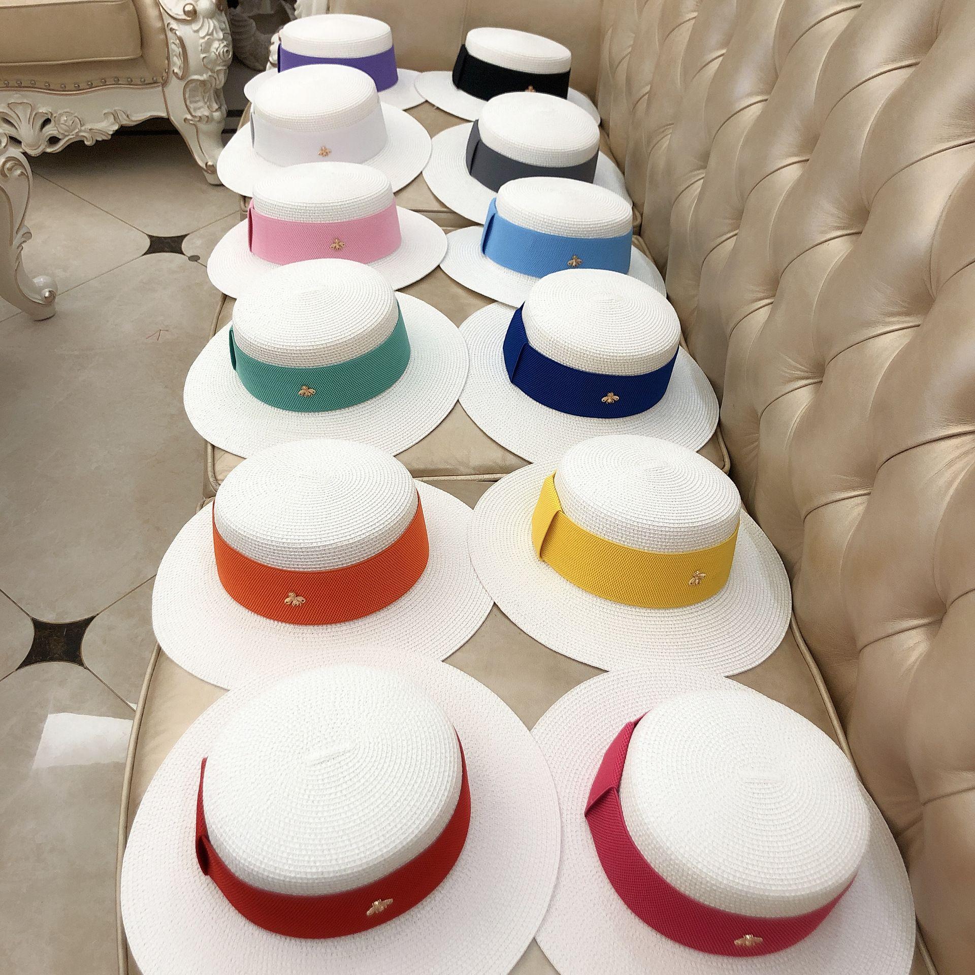 French women straw hat