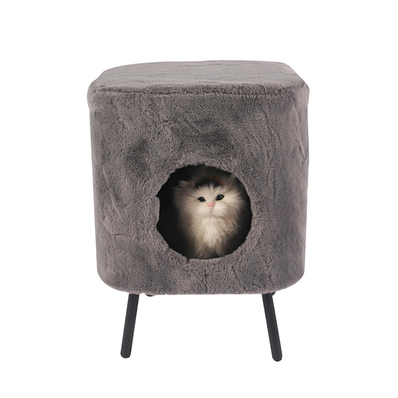 Cat's nest shoe change stool